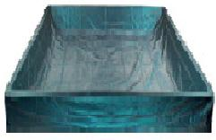 Safety Liner for Soft Side Water bed Mattress in eastern king, cal king, queen, full or twin size