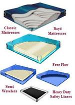 Queen Size Free Flow & Waveless Mattresses