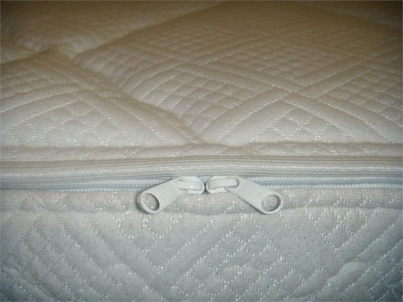 3000 Hard Side Waterbed Mattress Quilted Cotton Zipper Cover