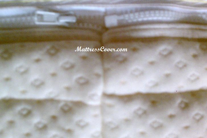 Euro Top Zipper Cover For Softside Waterbed Mattress