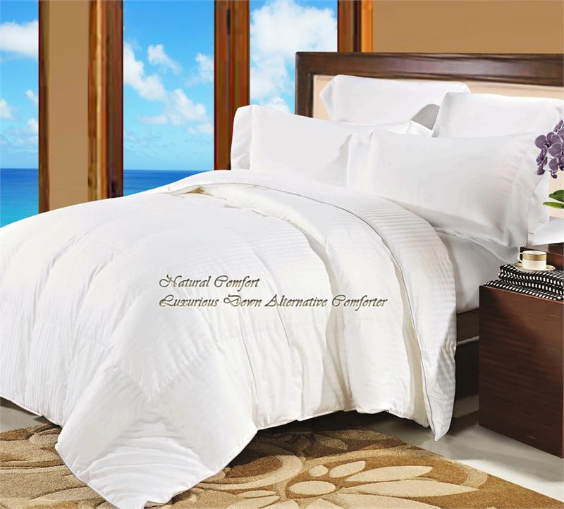 Natural Comfort Soft And Luxurious 300tc Sale Sateen White