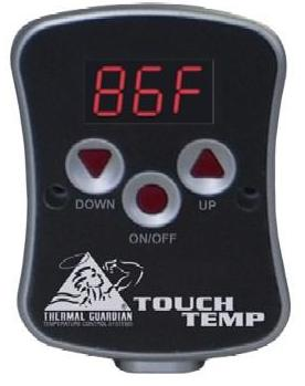 Touch Temp Digital Waterbed Heater For Hard Side Water Bed