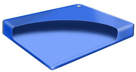Free Flow bladder for Softside waterbed in eastern king, cal king