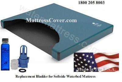 If you have a softside waterbed mattress and need to replace the inside bladder then you should check out this free flow bladder which has full motion movement just like the original water beds. High quality at a low price.