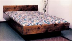 Super Twin Water Bed with free flow mattress, stand up liner, heater and flat head board