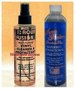 one 8 ounce bottle of waterbed conditioner and water bed mattress cleaner.
