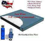 Semi Wave waterbed mattress for hardside waterbeds