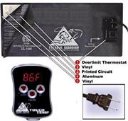 Digital Touch Temp 300 Watt Waterbed heater for king, queen  & super twin hard side water beds
