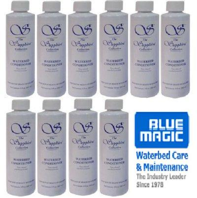 10 Bottles Of Blue Magic 8 Ounce Waterbed Conditioner