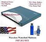 This waveless mattress is of our very popular waveless mattress not because of our low price but because it is very comfortable due to super soft contour fiber and of course the water.