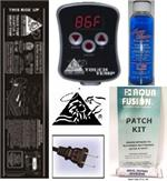 waterbed heater heater with 4oz premium conditioner and a free patch kit